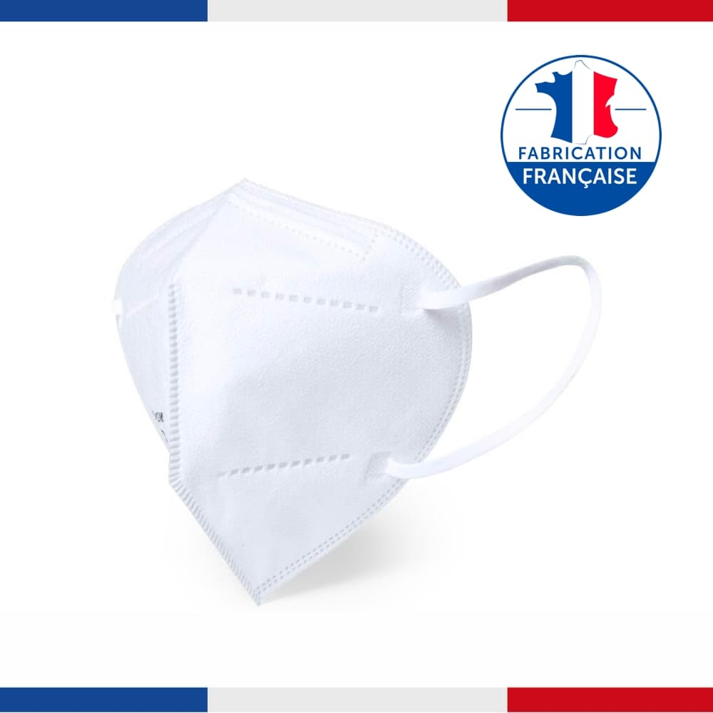 Masque FFP2 Français (149:2001 + A1:2009) - Made In France 🇫🇷