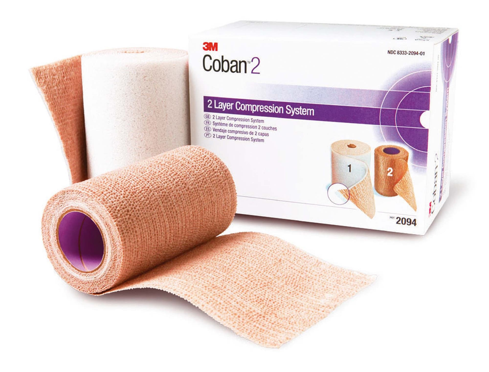 Bande Compression COBAN 2 10cmx2,7m